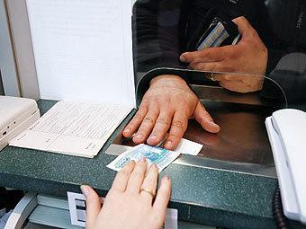 оплата в банке