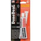 Термостойкий герметик DoneDeal - формирователь прокладок силиконовый (красный) 42,5 г.