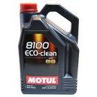 Моторное масло Motul 8100 Eco-Clean 0W-30 5 л