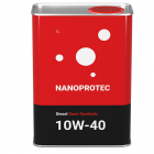Моторное масло Nanoprotec 10W-40 Diesel Semi-Synthetic 1 л