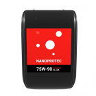 Трансмиссионное масло Nanoprotec 75W-90 GL-4/5 Full Synthetic 20л.