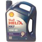 Моторна олива Shell Helix Diesel HX7 10W-40 4л.
