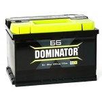 Аккумулятор Dominator 66A/ч клемма «+» слева