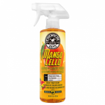 Ароматизатор Chemical Guys мангочелло NEW Mangocello Mango Lemon Fusion Air Freshener + Odor Neutralizer 473 мл.
