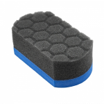 Мягкая губка аппликатор Chemical Guys The Easy Grip Ultra Soft Hex Logic синего цвета