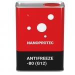 Антифриз Nanoprotec Antifreeze -80 (G12) 1 л