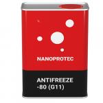 Антифриз Nanoprotec Antifreeze -80 (G11) 1 л