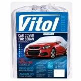 Чехол-тент для автомобиля Vitol CC11106 размер L серый