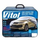Чехол-тент для автомобиля Vitol JC13402 размер XXL на джип/минивен серый с подкладкой (JC13402 XXL (3))