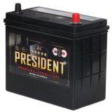 Аккумулятор President 80A/ч клемма «+» слева