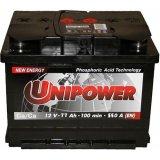 Аккумулятор UniPower 77A/ч