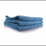 """Голубое микрофибровое полотенце Chemical Guys """"рабочая лошадка"""" для стекол 40х40см."""