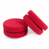 """Двухсторонний красный поролоновый аппликатор Chemical Guys """"Dublo-Dual Sided Foam Wax & Sealant Applicators"""" для нанесения покрытий"""