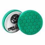 №3 жесткости зеленый пенополиуретановый полировальный круг Chemical Guys Hex-Logic премиум 10.16см.