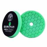 №3 ступеня жорсткості, зелений пенополіуретановий полірувальний круг Chemical Guys quantum 13,97см.
