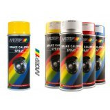 Краска для суппортов Motip желтая 400 мл.