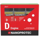 Набор присадок в моторное масло Nanoprotec D-engine 3 в 1 270 мл.