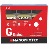 Набор присадок в моторное масло Nanoprotec G-engine 3 в 1 270 мл.