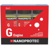 Набір присадок до моторного масла Nanoprotec G-engine 3 в 1 270 мл.