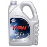 Моторное масло Fuchs Titan GT1 Pro C3 5W-30 4л.