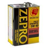 Idemitsu Zepro Diesel Fully Synthetic CF 5W-40 4л.