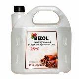 Зимний омыватель стекла -25C аромат Цейлонской Корицы Bizol Winter Screen Wash 4 л