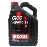 Моторна олива Motul 6100 Synergie + 5W-40 5л.