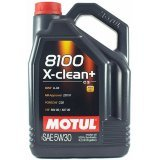 Моторное масло Motul 8100 X-clean+ 5W-30 5л.