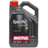 Моторное масло Motul Specific VW 505 01/502 00 5W-40 5л.
