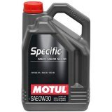 Моторное масло Motul Specific VW 506 01/ 506 00 /503 00 0W-30 5л.