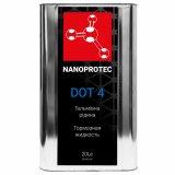 Тормозная жидкость Nanoprotec DOT 4 20л.