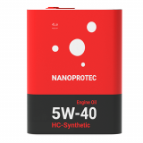 Моторное масло Nanoprotec 5W-40 HC-Synthetic 4л.