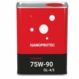 Трансмиссионное масло Nanoprotec 75W-90 GL-4/5 Full Synthetic 1 л