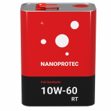 Моторне масло Nanoprotec RT 10W-60 Full Synthetic 4л.