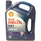 Моторное масло Shell Helix Diesel HX7 10W-40 4л.