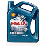 Моторное масло Shell Helix HX7 5W-30 4л.