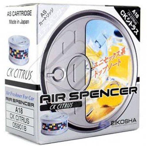 """Ароматизатор Eikosha Air Spencer """"СК ONE"""" CK Citrus с запахом цитрусов"""