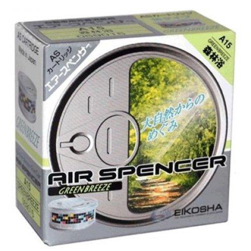 Ароматизатор Eikosha Air Spencer Green Breeze з запахом природи і фруктів