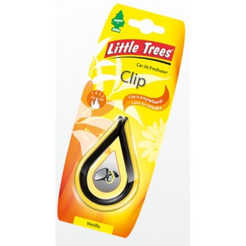 """Ароматизатор повітря Little Trees Clip """"Ваніль"""""""