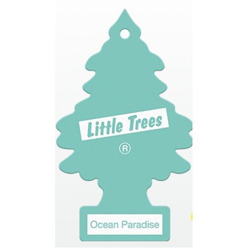 """Ароматизатор повітря Little Trees """"Океанічний рай"""" листик"""