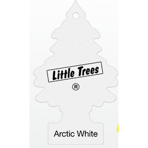 "Ароматизатор воздуха Little Trees ""Арктический белый"" листик"