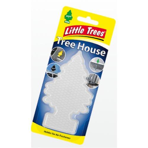 """Ароматизатор повітря Little Trees держатель Tree House """"прозорий"""""""