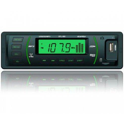Автомагнитола StarLite STL-302 Black/Green