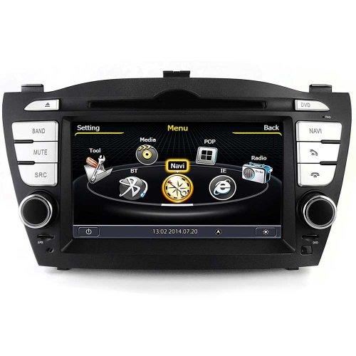 Штатная магнитола EasyGo S127 Hyundai IX35