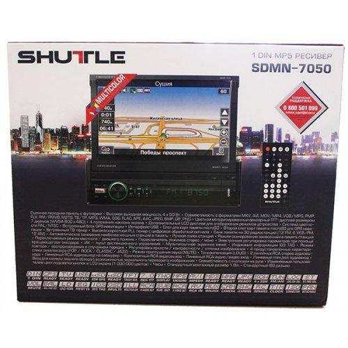 Автомагнитола Shuttle SDMN-7050 с GPS и лицензионной картой Navitel