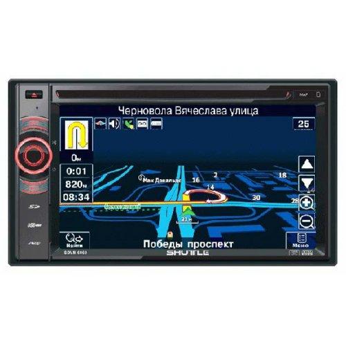 Автомагнитола Shuttle SDVN-6960 с GPS и лицензионной картой Navitel