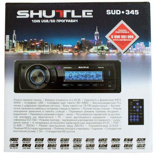 Автомагнитола Shuttle SUD-345