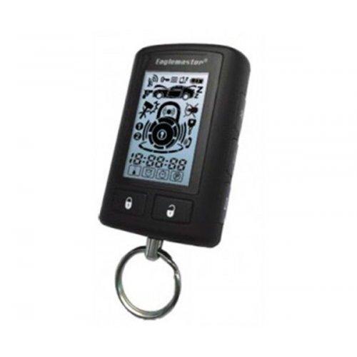 Брелок для сигнализации Eaglemaster E4 двухсторонний с LCD-дисплеем