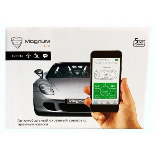 Автосигнализация Magnum Elite M 860 с GSM модулем