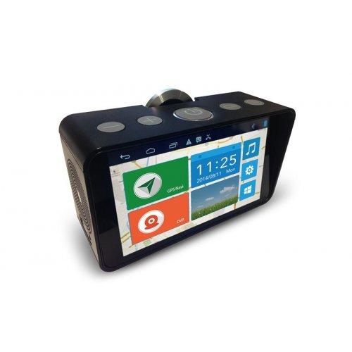 Jimi JC800 белый автобокс с монитором и видеорегистратором